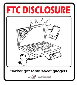 FTC Gadget Disclosures