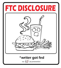FTC food Disclosures