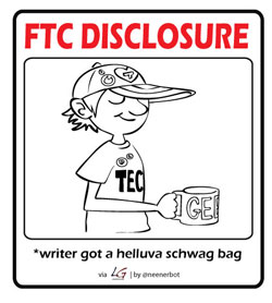 ftc schwag 250 Disclosures